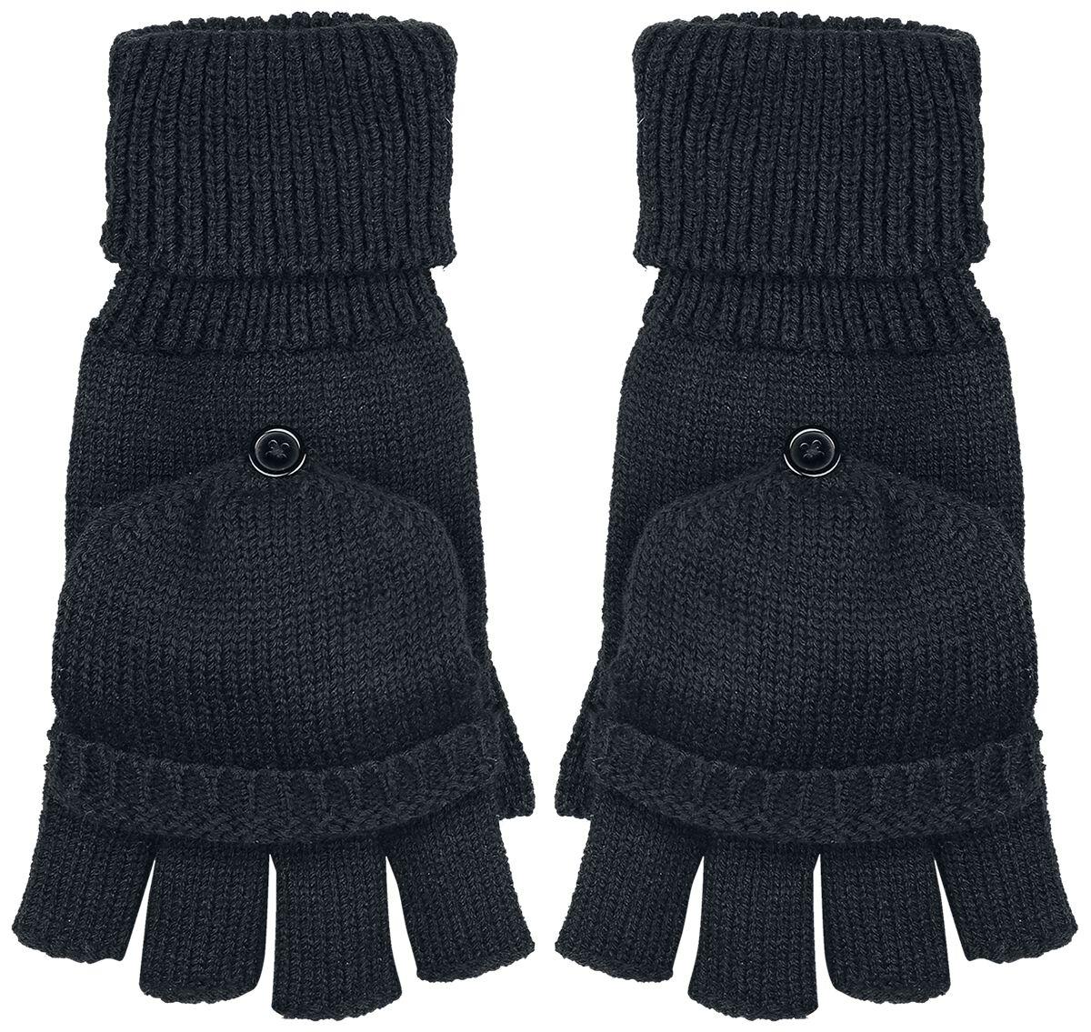 Image of Beechfield Fliptop Gloves Handschuhe schwarz