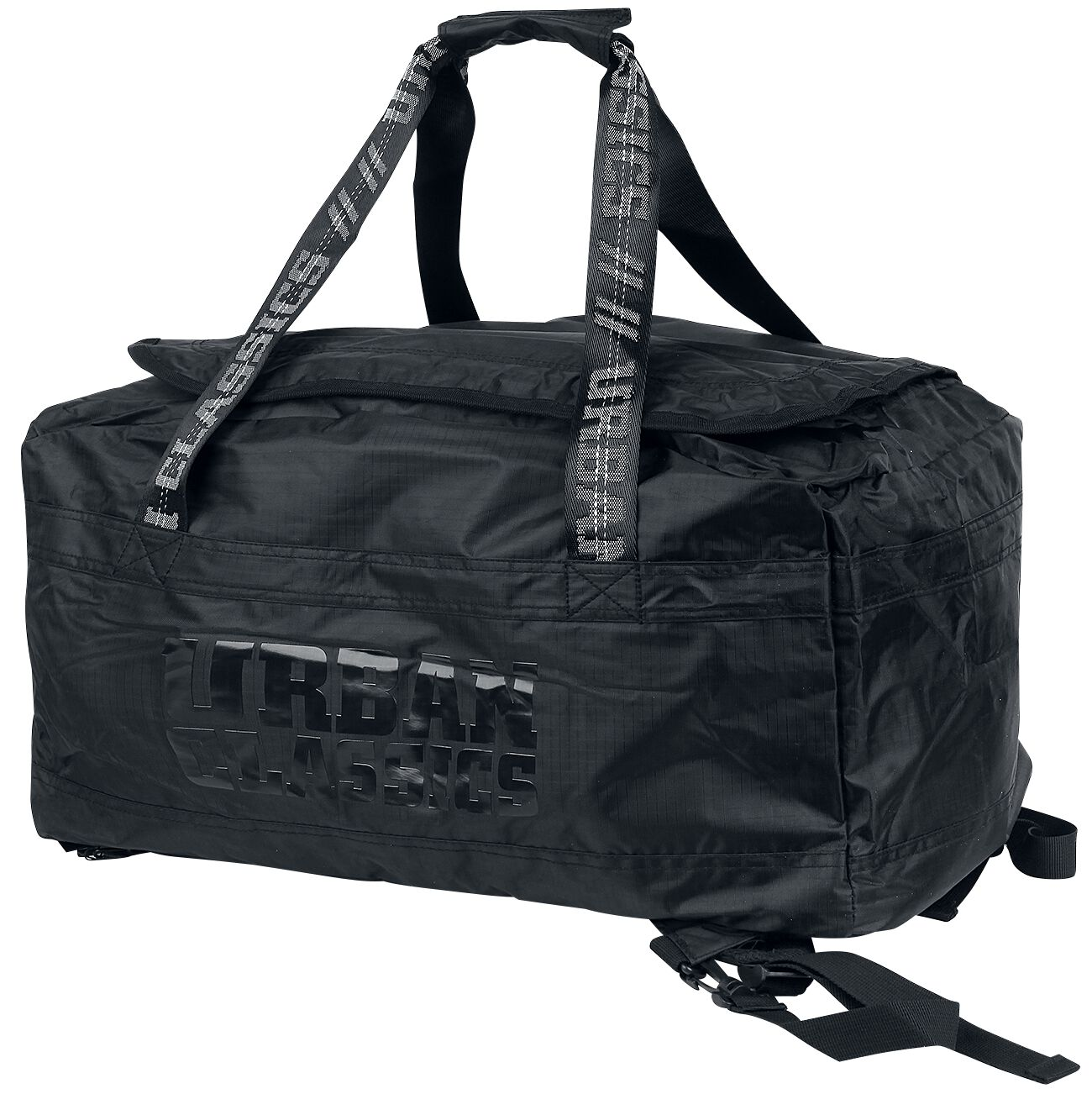 Rucksaecke - Urban Classics Soft Traveller Bag Rucksack schwarz  - Onlineshop EMP