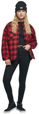 Ladies Flanell Padded Overshirt