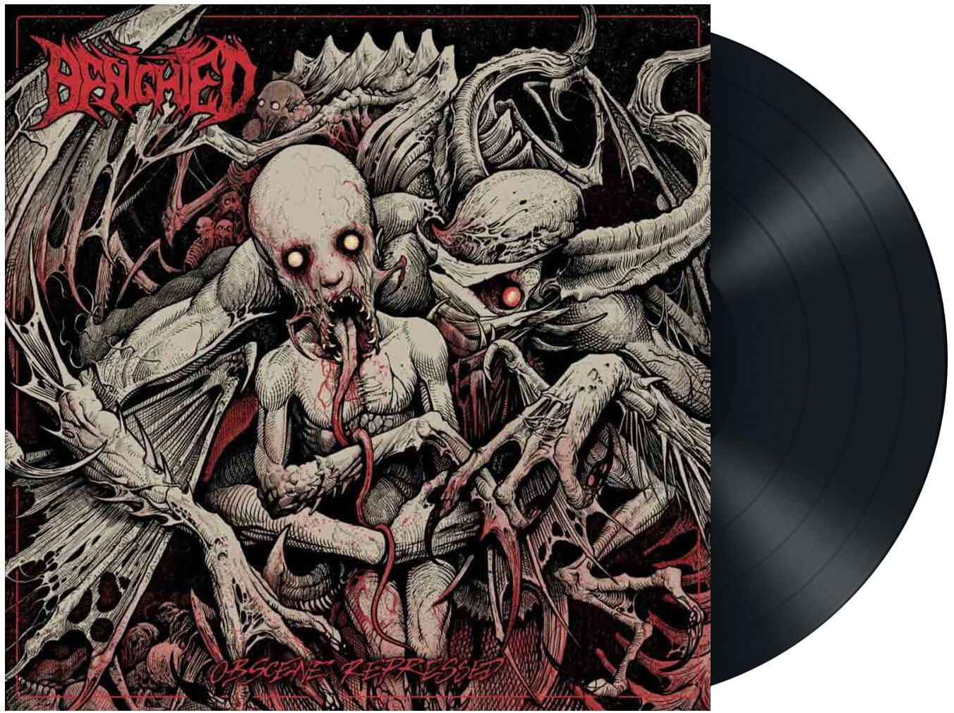 Image of Benighted Obscene repressed LP Standard