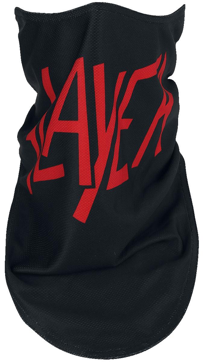 Slayer - Slayer Logo Biker Mask - Maske - schwarz  rot - EMP Exklusiv!
