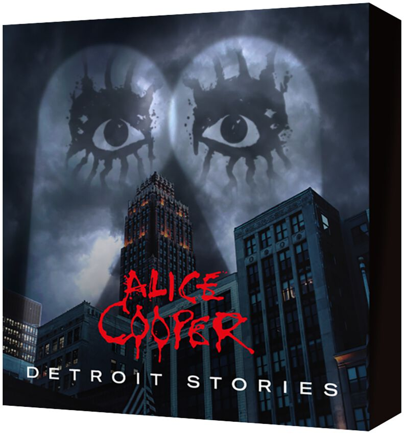 Image of Alice Cooper Detroit stories CD & Blu-ray Standard