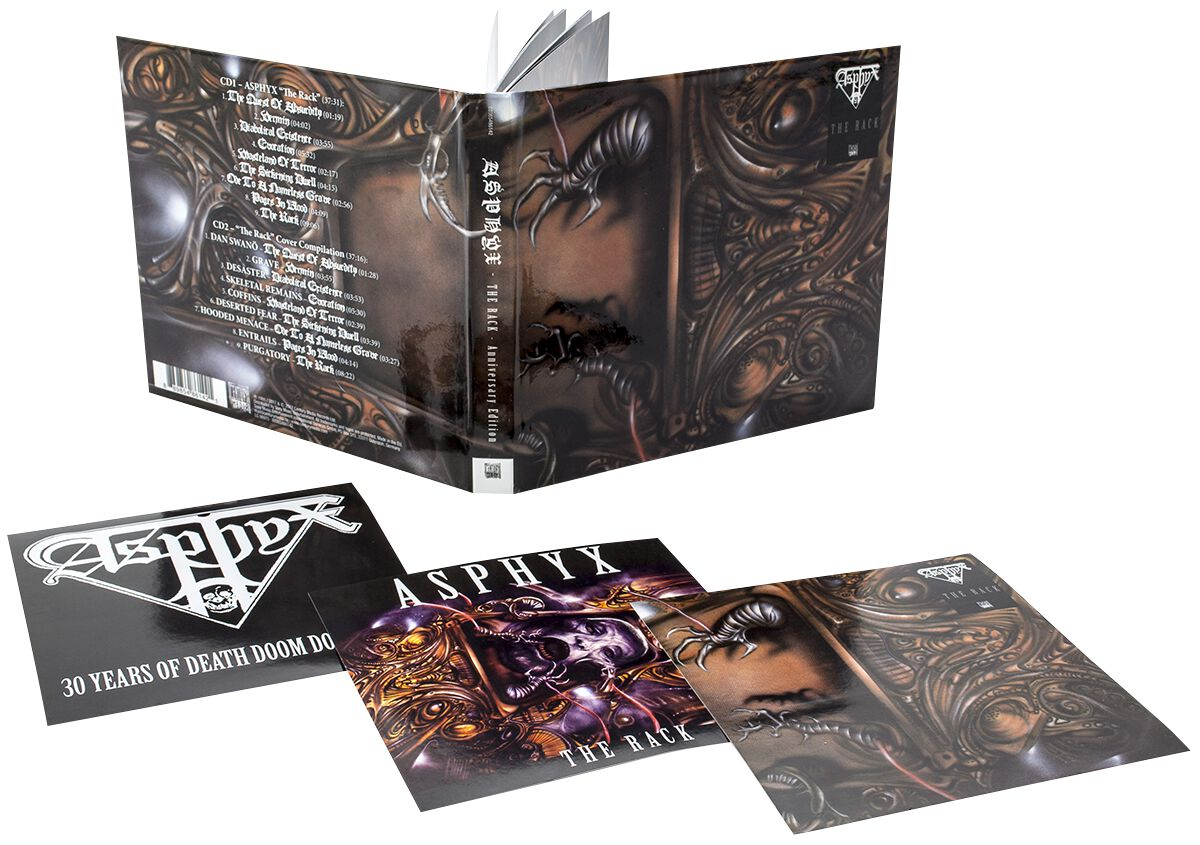 Image of Asphyx The rack - Anniversary Edition 2-CD Standard