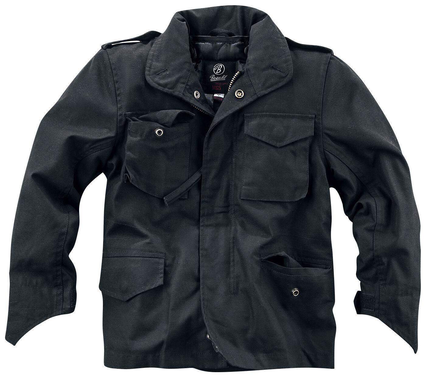 Image of Brandit M65 Kids Jacket Giacca bimbo nero