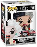 Cruella De Vil (Glitter) Vinyl Figur 736