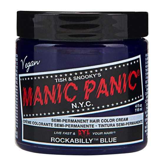 Manic Panic Rockabilly Blue - Classic  Haar-Farben  blau