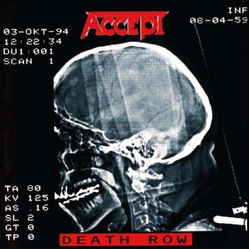 Image of Accept Death row CD Standard