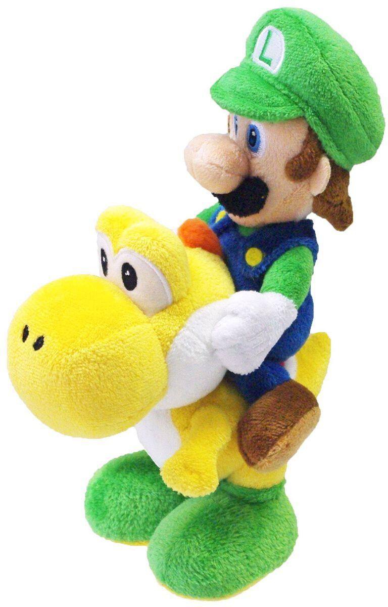 Super Mario Luigi & Yoshi Plüschfigur multicolor LTB1255