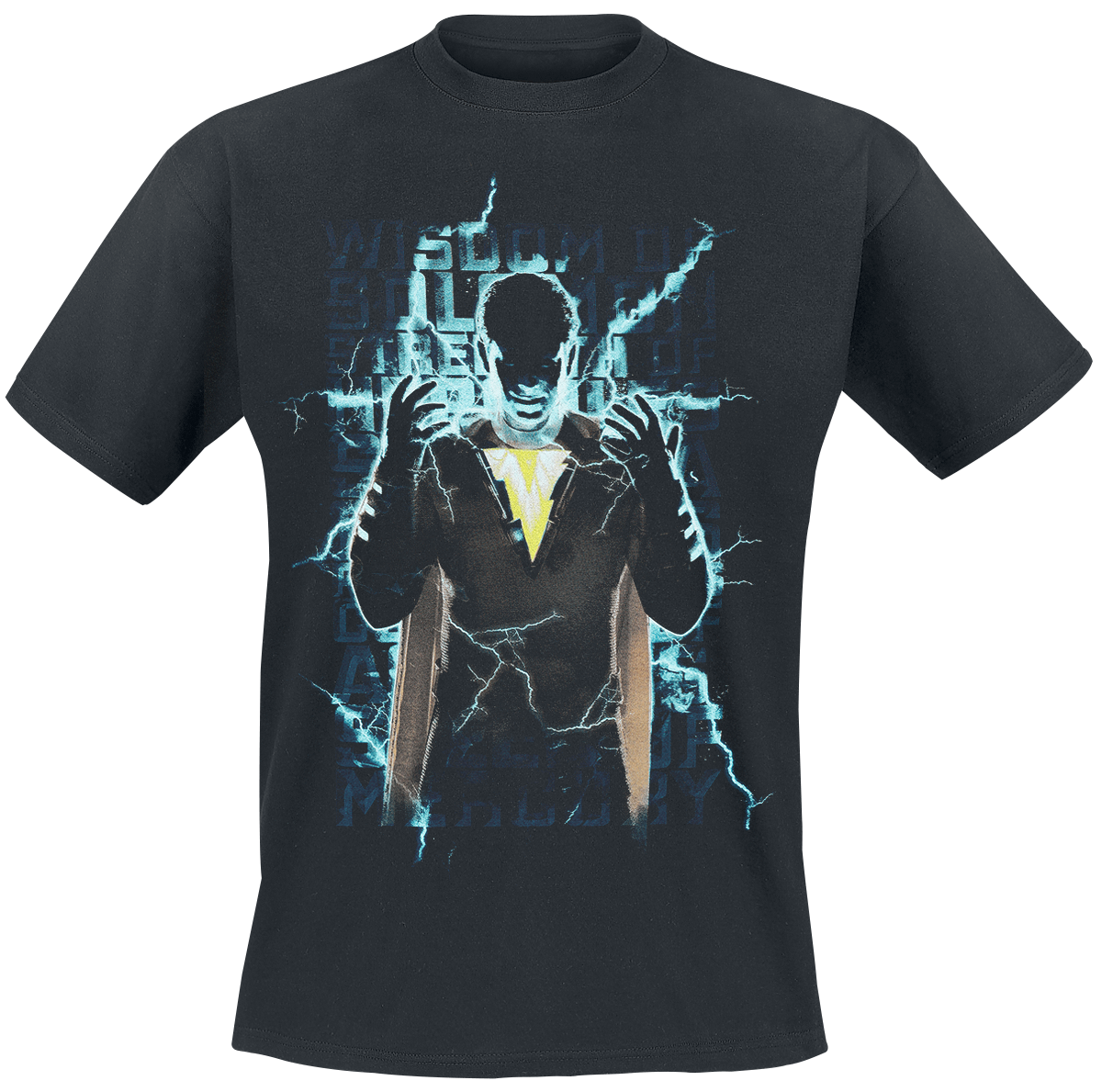 Shazam - Shazam Movie - Heroic Text - T-Shirt - black image