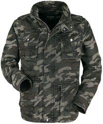 Camouflage Jacke mit großen Taschen im Army Style