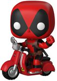 Deadpool on Scooter Vinyl Figur 45