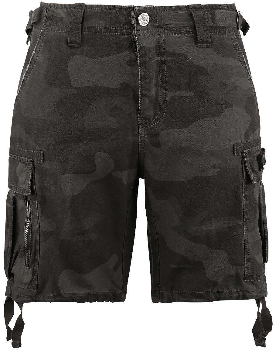 Black Premium by EMP Army Vintage Shorts Shorts camouflage