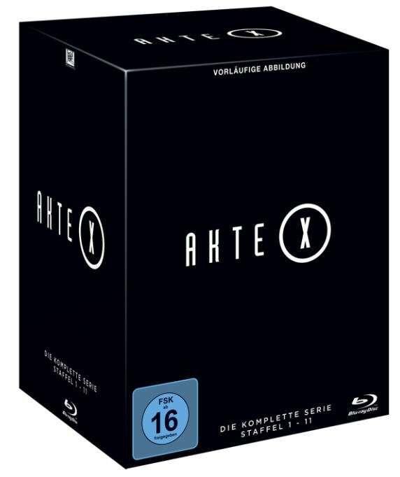 Image of Akte X Staffel 1-11 - Die komplette Serie 60-Blu-ray Standard