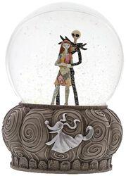 Jack und Sally - Schneekugel