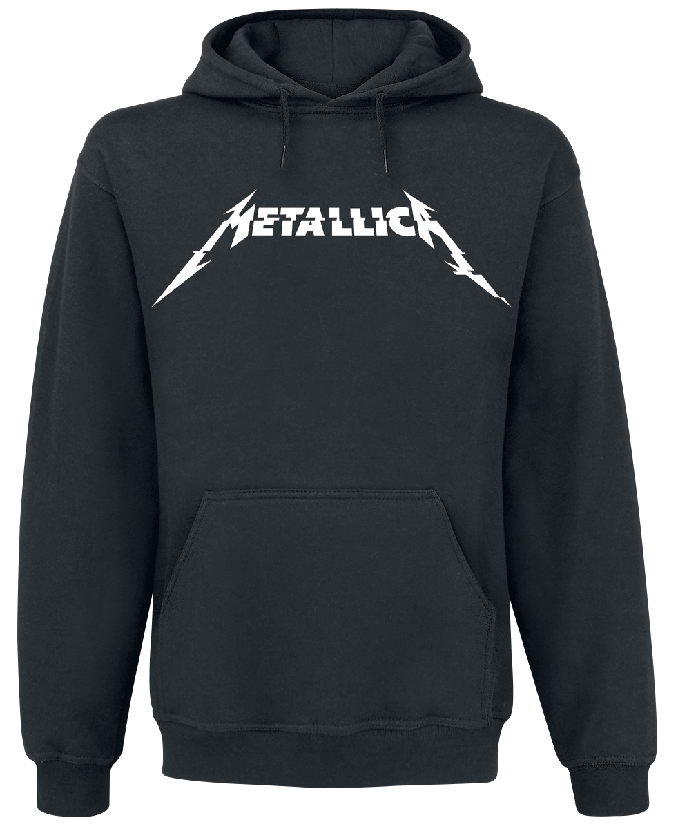 Metallica - Glitch Logo - Hooded sweatshirt - black image
