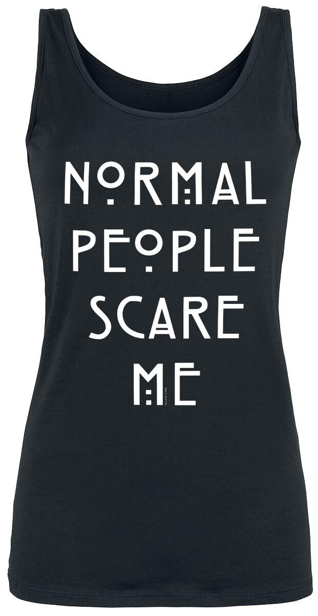 Image of American Horror Story Normal People Scare Me Girl-Top schwarz