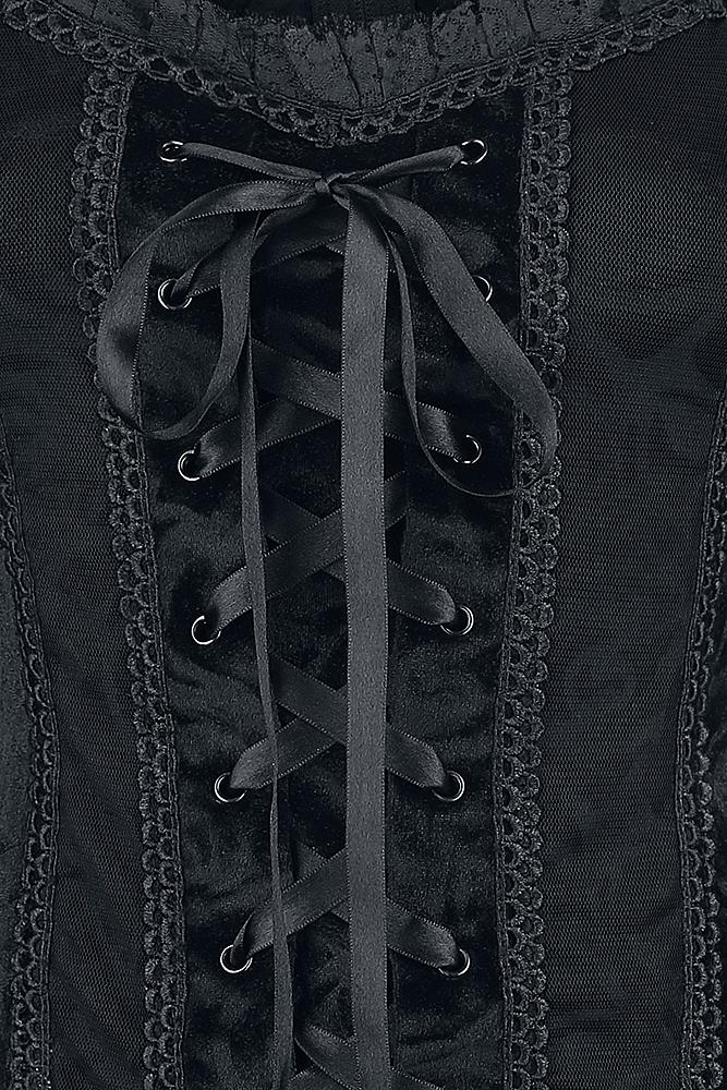 Image of Gothicana by EMP Rosemary Girl-Longsleeve schwarz
