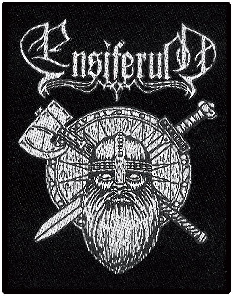 Ensiferum  Sword & Axe  Patch  schwarz/weiß