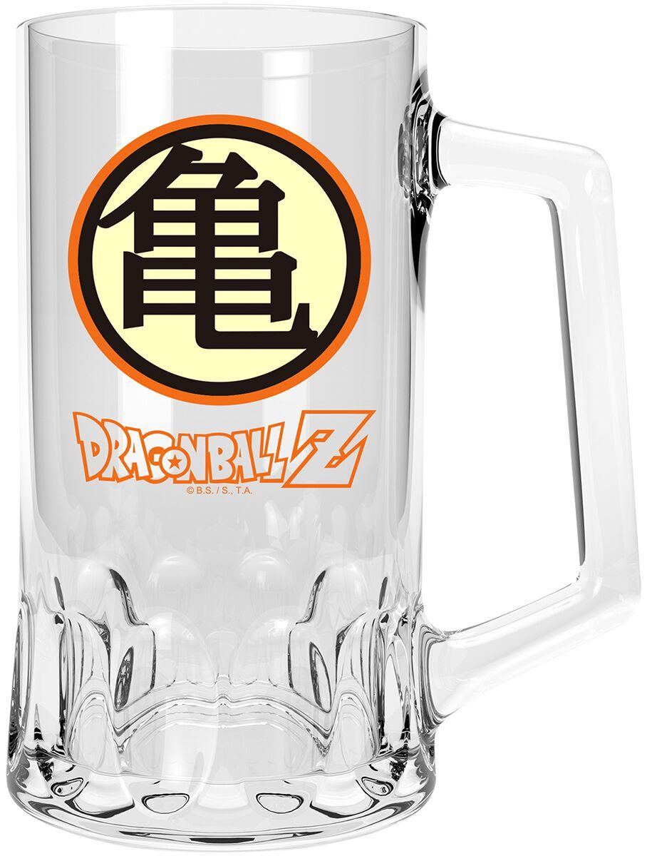 Image of Dragon Ball Z - Kame Symbol Bierkrug klar