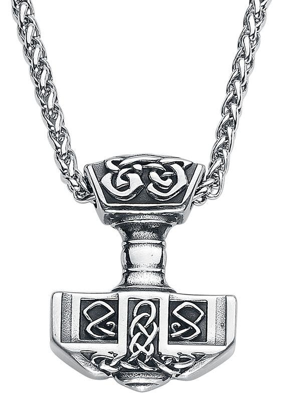 Thors Hammer mit Keltischen Knoten