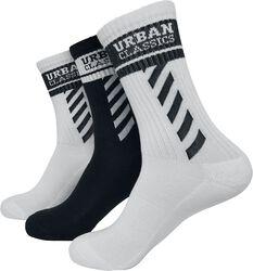 Sporty Logo Socks 3er Pack