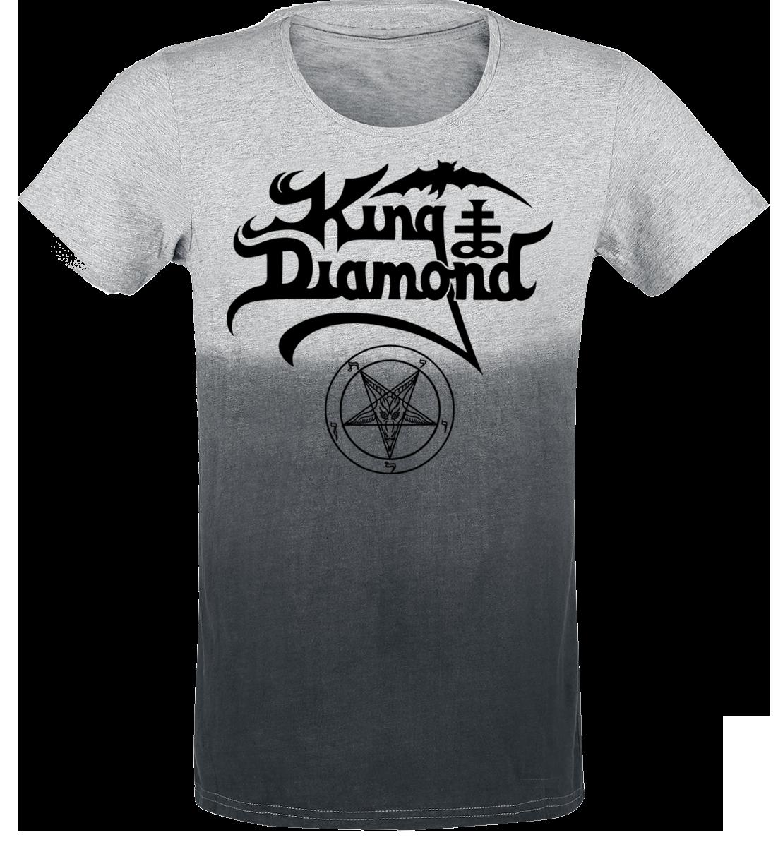 King Diamond - Logo - T-Shirt - light greying/greying image