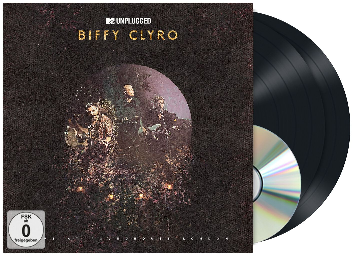 Image of Biffy Clyro MTV unplugged (Live at Roundhouse, London) 2-LP & CD & DVD Standard