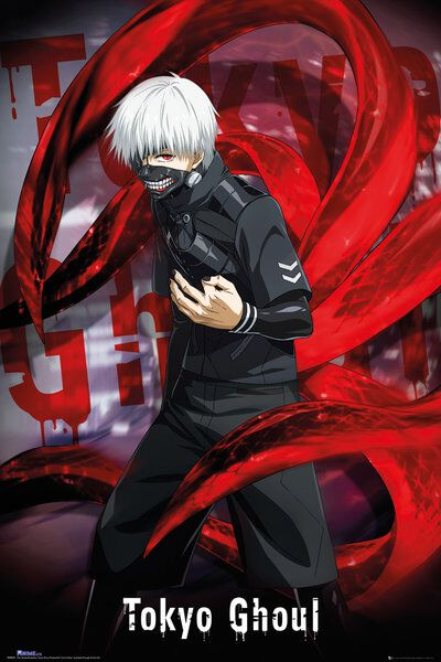 Tokyo Ghoul Ken Kaneki Poster multicolor FP4044