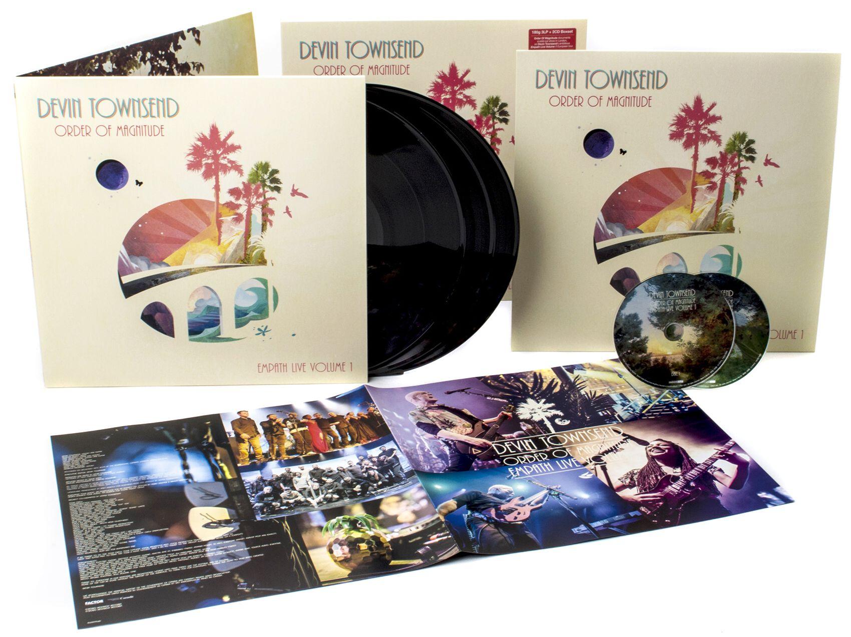 Image of Devin Townsend Order of magnitude - Empath Live Volume 1 3-LP & 2-CD Standard