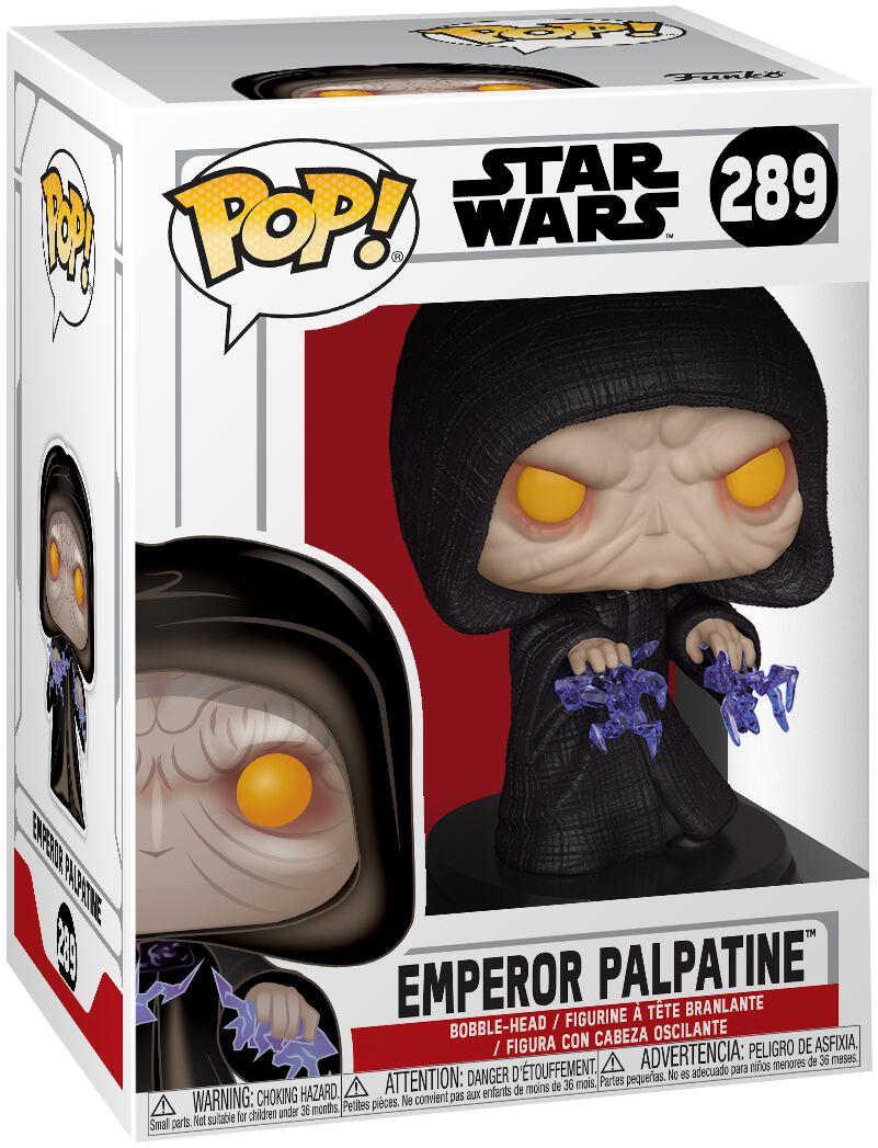 Star Wars Emperor Palpatine Vinyl Figure 289 Funko Pop! multicolor 37591