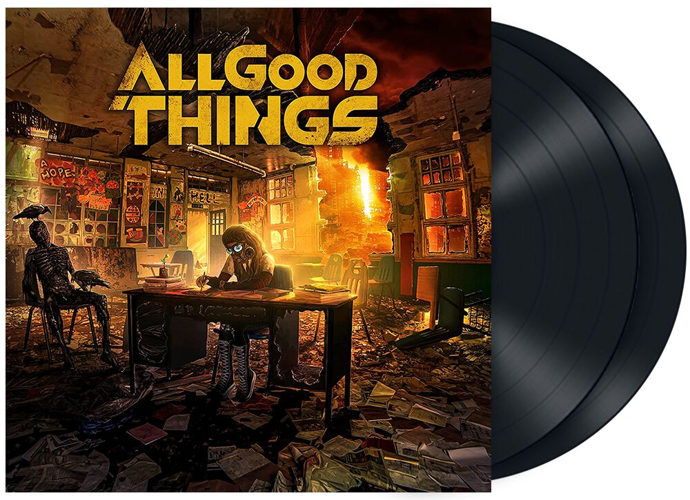 Image of All Good Things A hope in hell 2-LP Standard