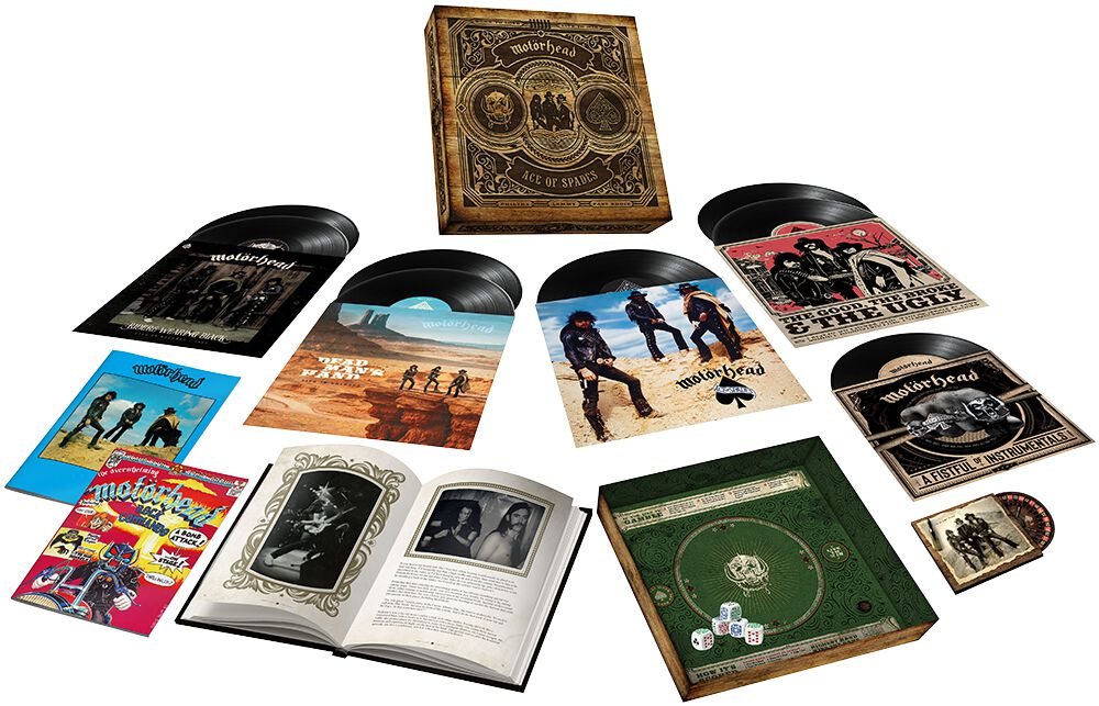 Image of Motörhead Ace of spades (40th Anniversary Edition) 7-LP & 10 inch & DVD Standard