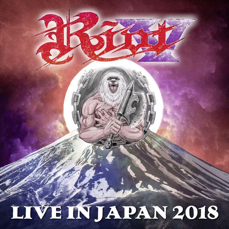 Image of Riot V Live in Japan 2018 Blu-ray & 2-CD Standard