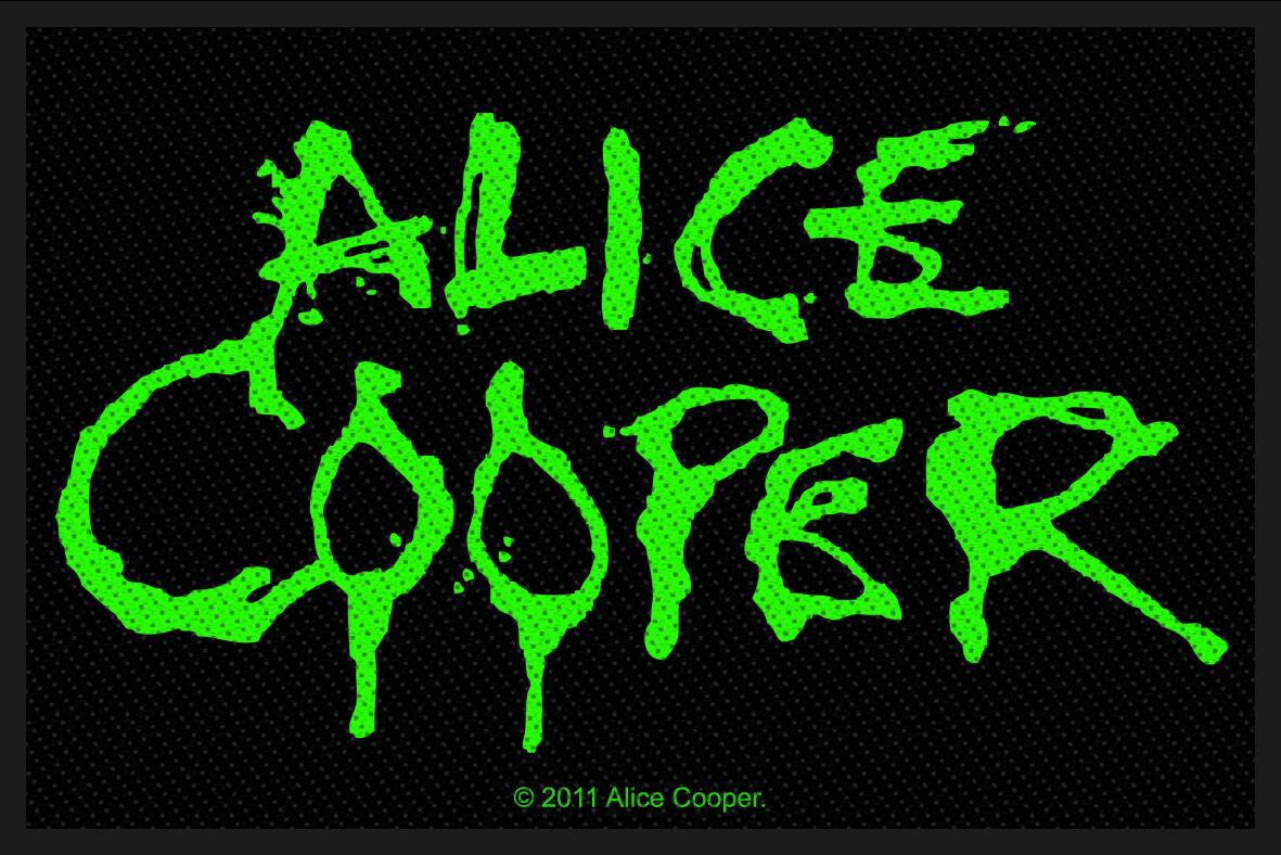 Image of Alice Cooper Alice Cooper Logo Patch Standard