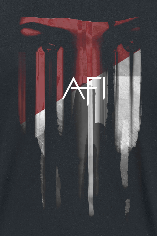 Image of Afi Red Eyes T-Shirt schwarz