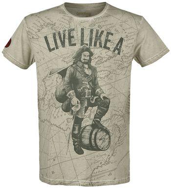 Live Like The Captain
