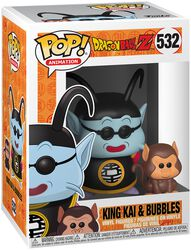 Z - King Kai and Bubbles Vinyl Figure 532