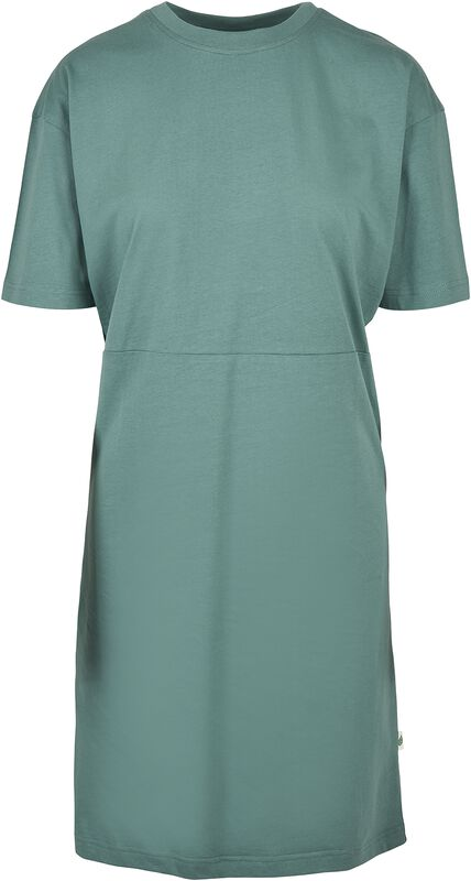 Ladies Organic Oversized Slit Tee Dress