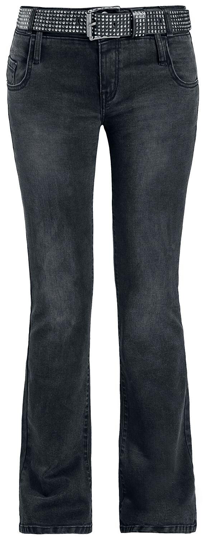 Hosen für Frauen - RED by EMP Grace Jeans schwarz  - Onlineshop EMP