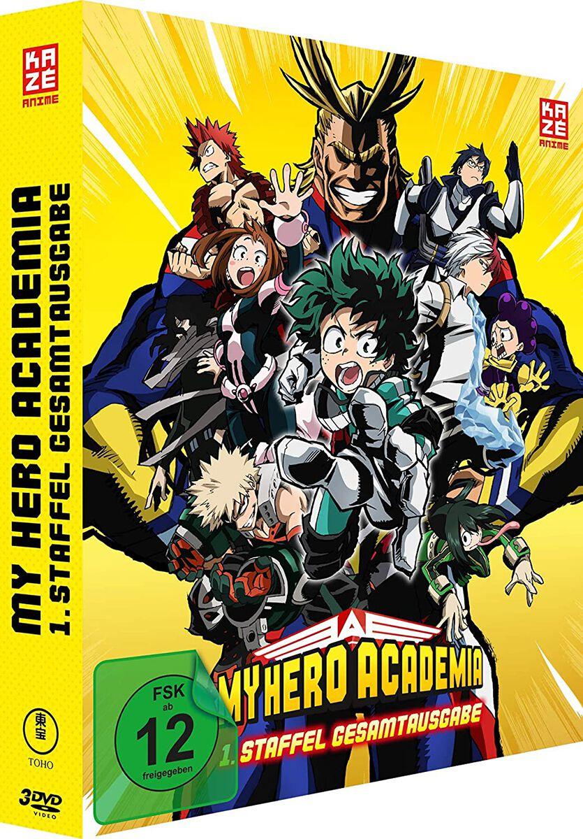 Image of My Hero Academia Staffel 1 - Gesamtausgabe 3-DVD Standard