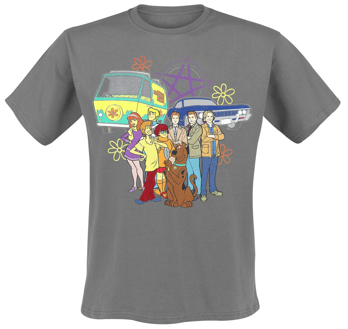 Gang And Cars | Scooby-Doo T-Shirt | EMP