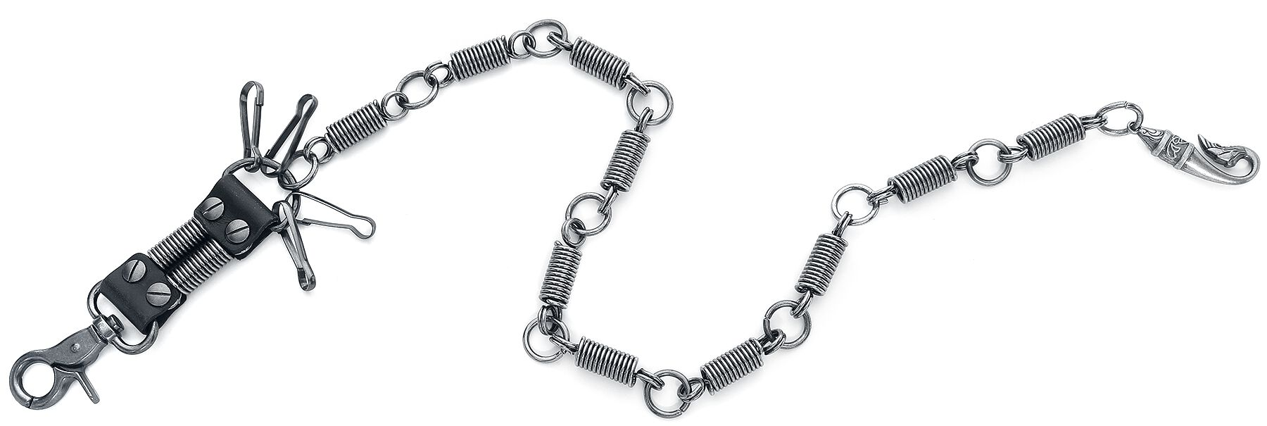 Image of etNox Schrauber Geldbörsenkette Chain silberfarben