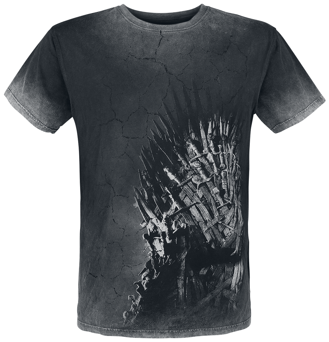 Game of Thrones - Iron Throne - T-Shirt - black-grey image
