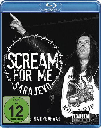 Bruce Dickinson  Scream for me Sarajevo  Blu-ray  Standard