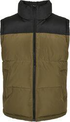 Block Puffer Vest