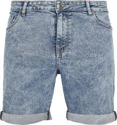 5 Pocked Slim Fit Denim Shorts