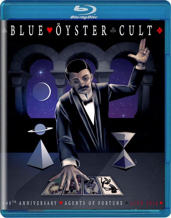 Image of Blue Öyster Cult Agents of fortune live 2016 Blu-ray Standard