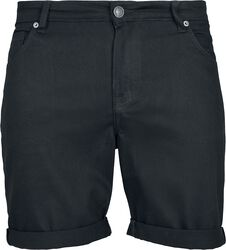 5 Pocked Slim Fit Denim Shorts