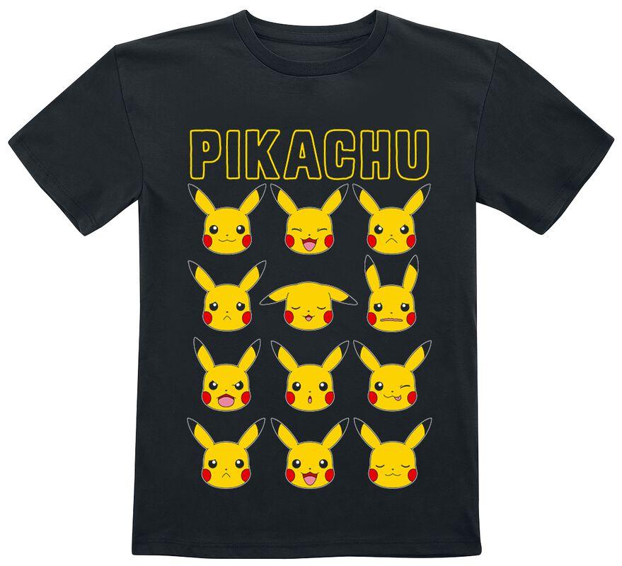 Kids - Pikachu Gesichter