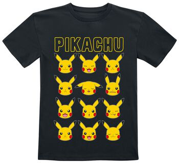 Pikachu - Gesichter
